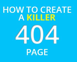 Create a Killer 404 Page