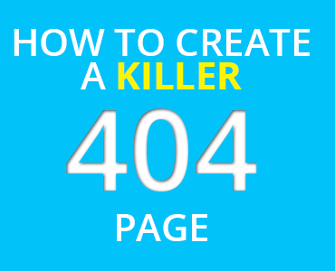 Create a Killer 404 Page