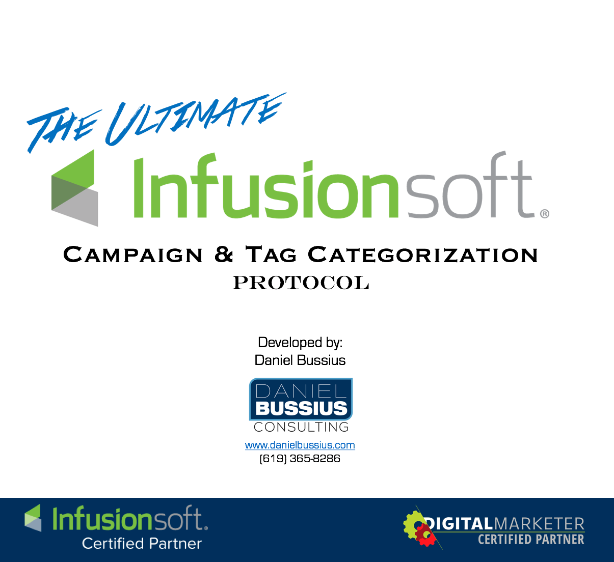 Infusionsoft Campaign Categorization