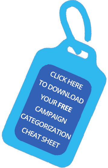 Infusionsoft Campaign Categorization-Download the cheat sheet