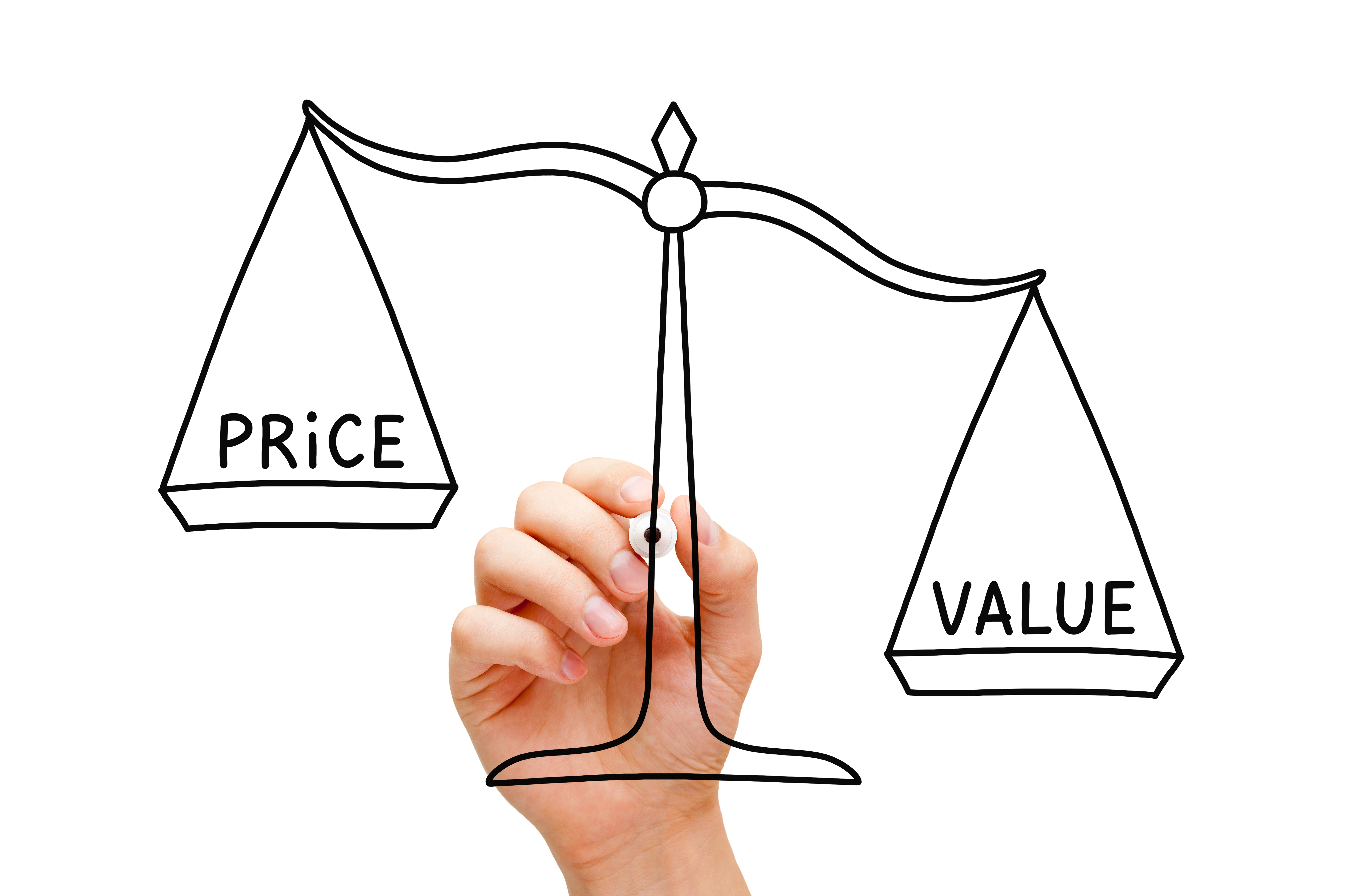 Ultimate Black Friday Sales Campaign-price vs value