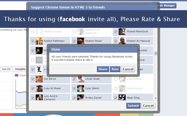 tools the pros use-Facebook Invite Tool