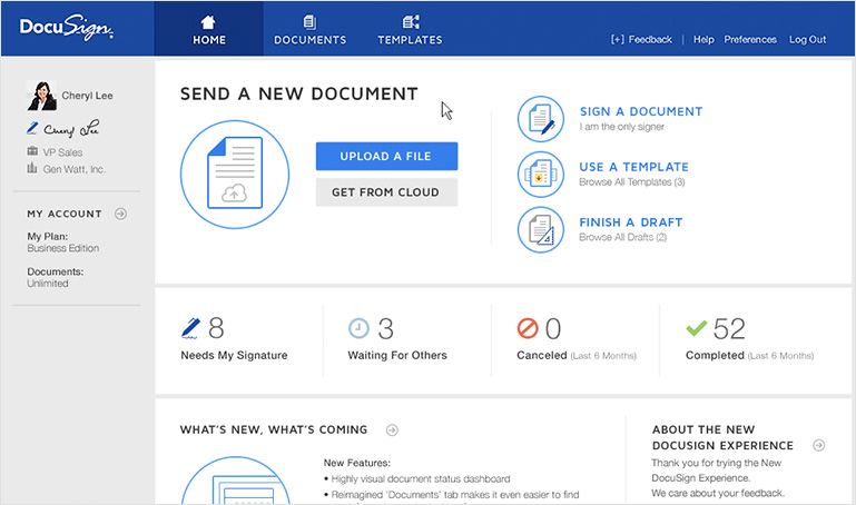 tools the pros use-docusign