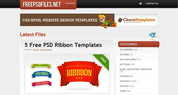 tools the pros use-free-psd-templates