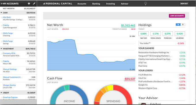 tools the pros use-personal-capital