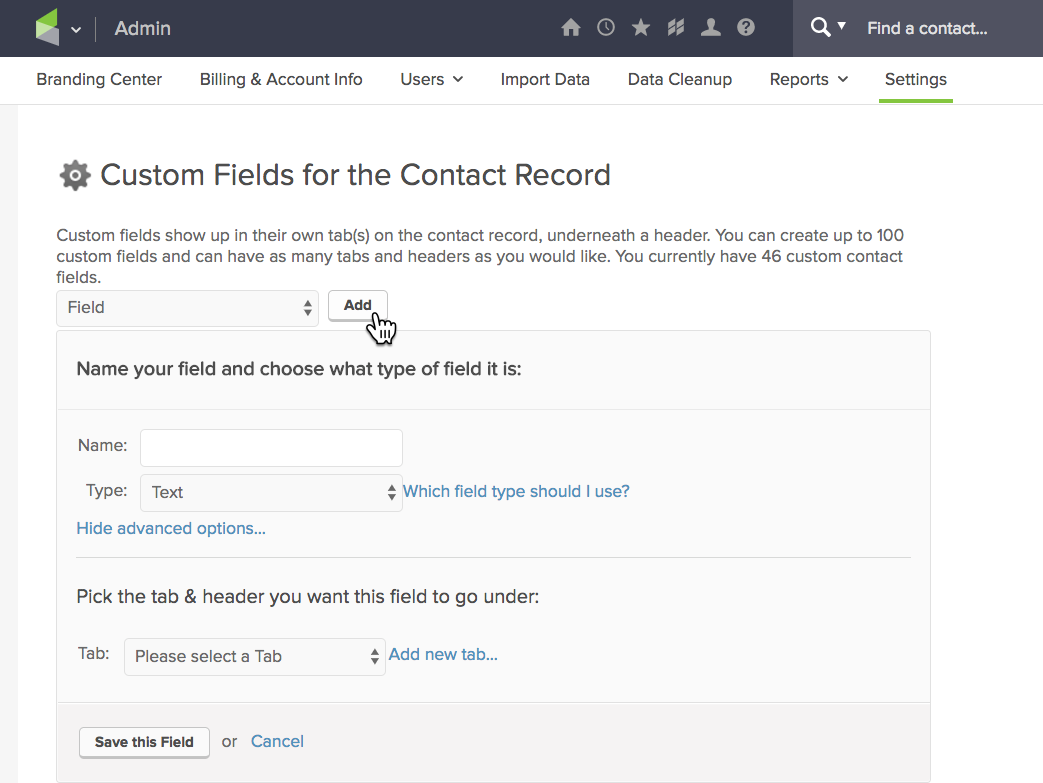 infusionsoft create custom field-daniel bussius