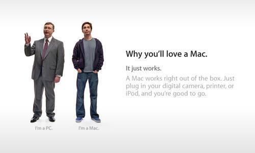 Image of old mac add example of value-based pricing strategy