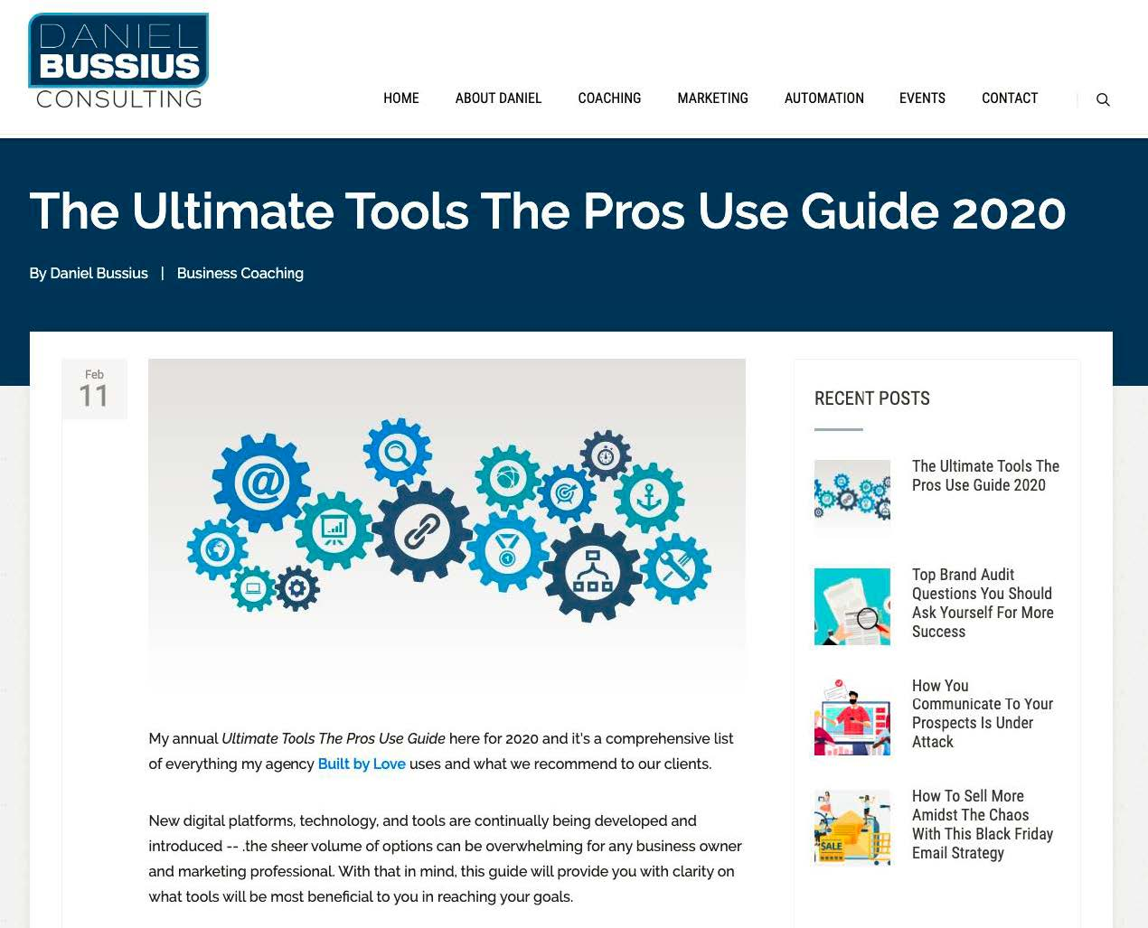 Marketing In Uncertain Times  -tools the pros use