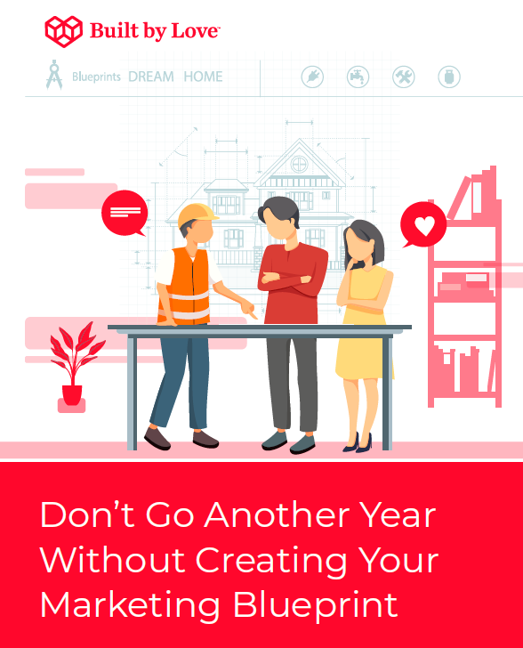 Image of marketing blueprint guide by Built by Love Agency