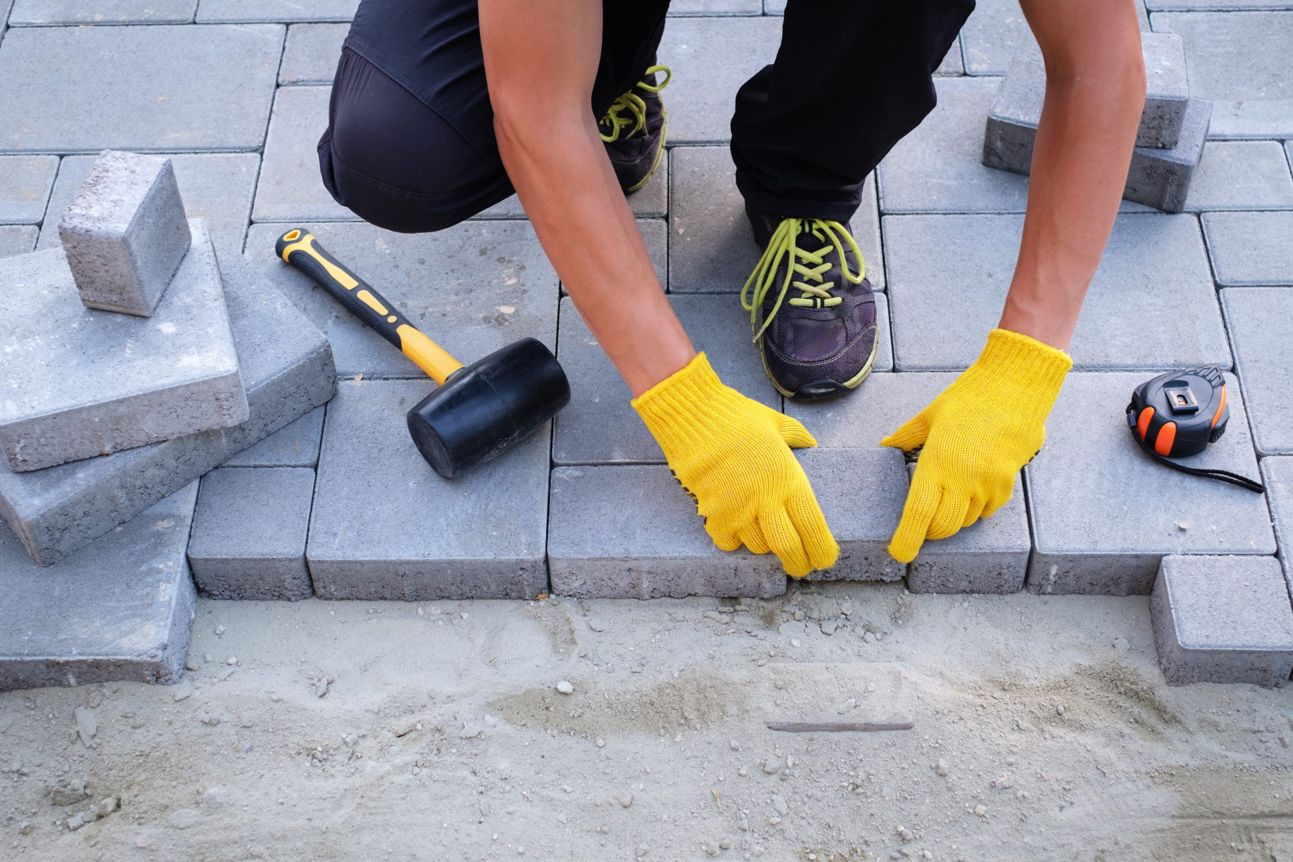 image of a person laying foundation symbolizing crafting the brand voice in the marketing RAMP