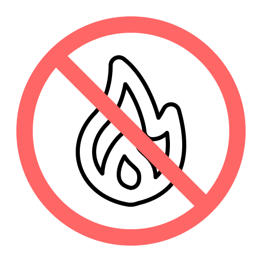 no fire symbol representing marketing fails that can be fixed by the Marketing RAMP