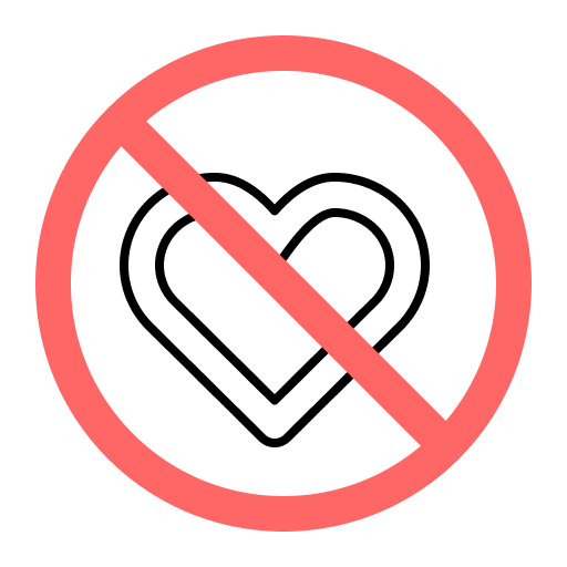 no delight symbol representing marketing fails that can be fixed by the Marketing RAMP