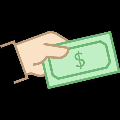 image of hand with money symbolizing unity and  black fridayy marketing strategy 2021